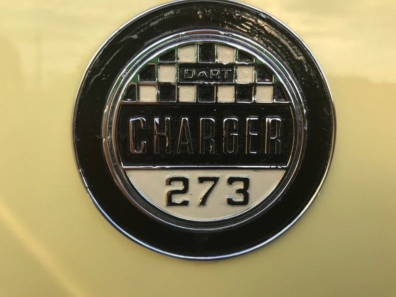 1965 dodge dart gt charger 273