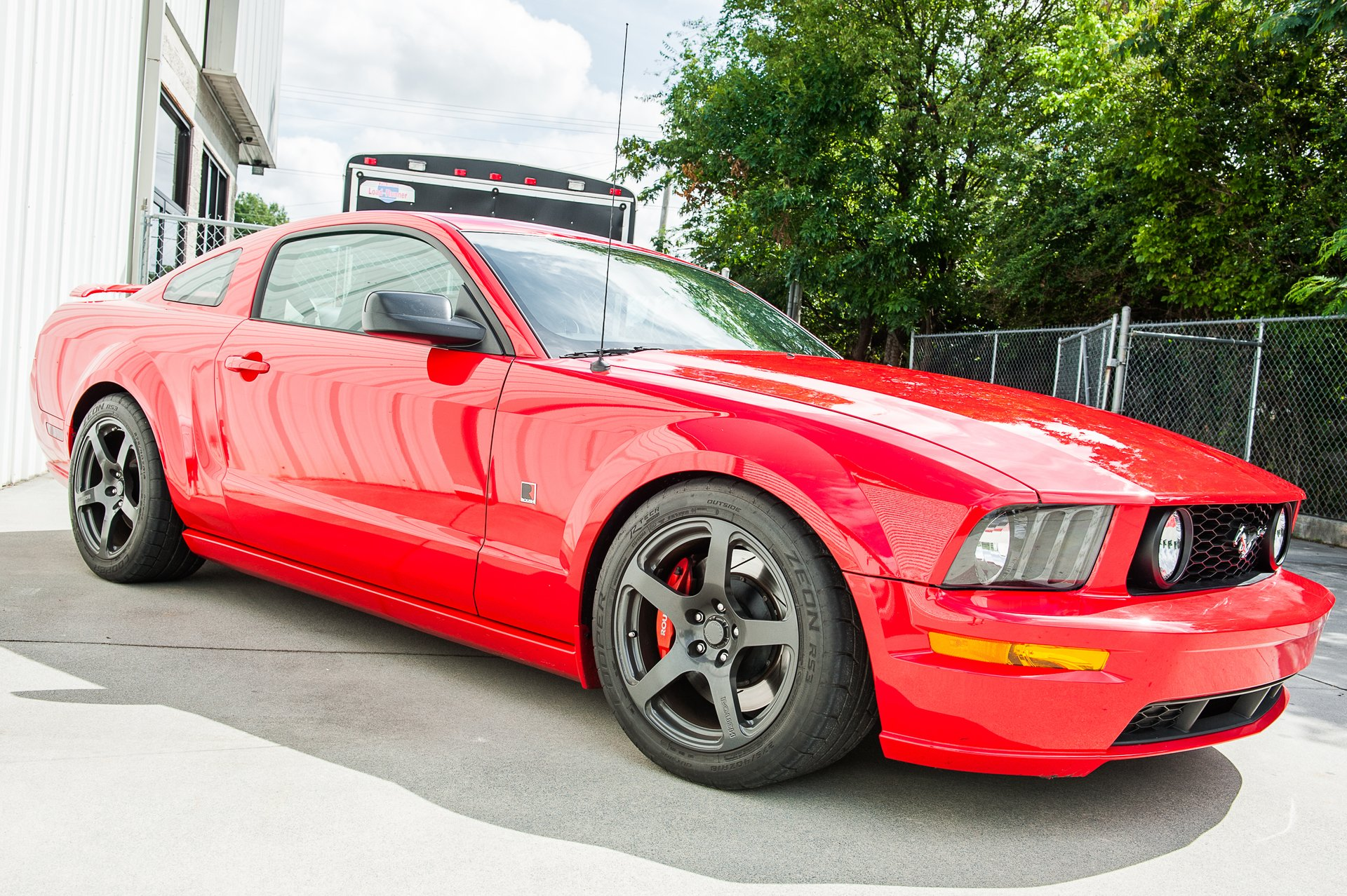 2009 ford mustang roush p51