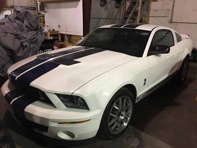 2008 ford mustang shelby cobra gt 500