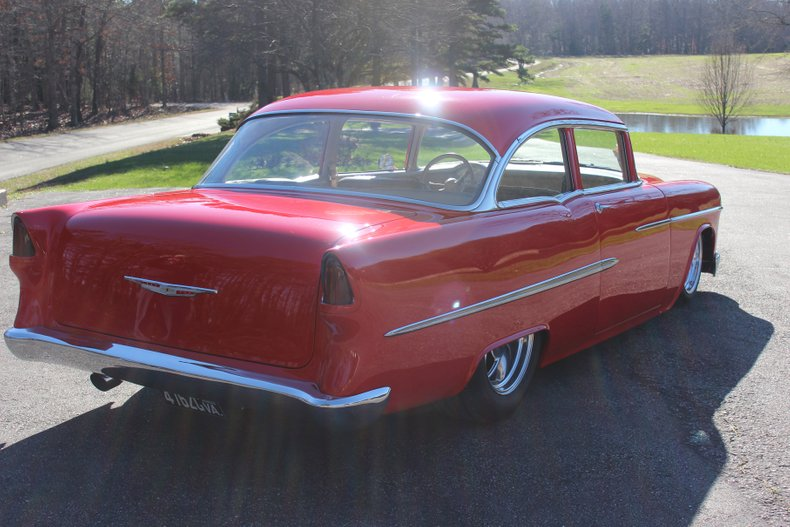 1955 chevrolet bel air pro touring resto rod