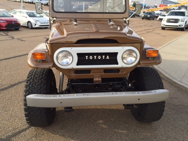 1971 toyota land cruiser 4x4