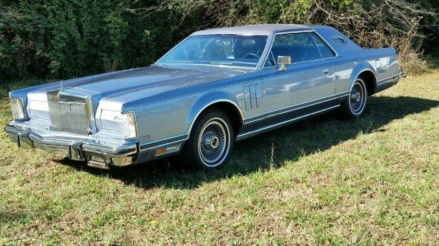 1979 lincoln mark v givenchy series