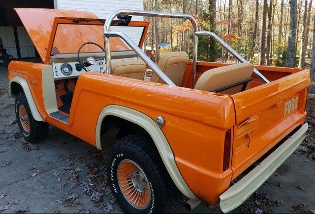 1967 ford bronco roadster