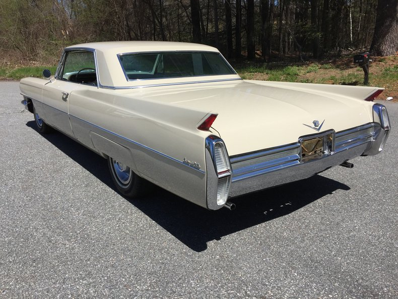 1964 cadillac coupe deville restomod