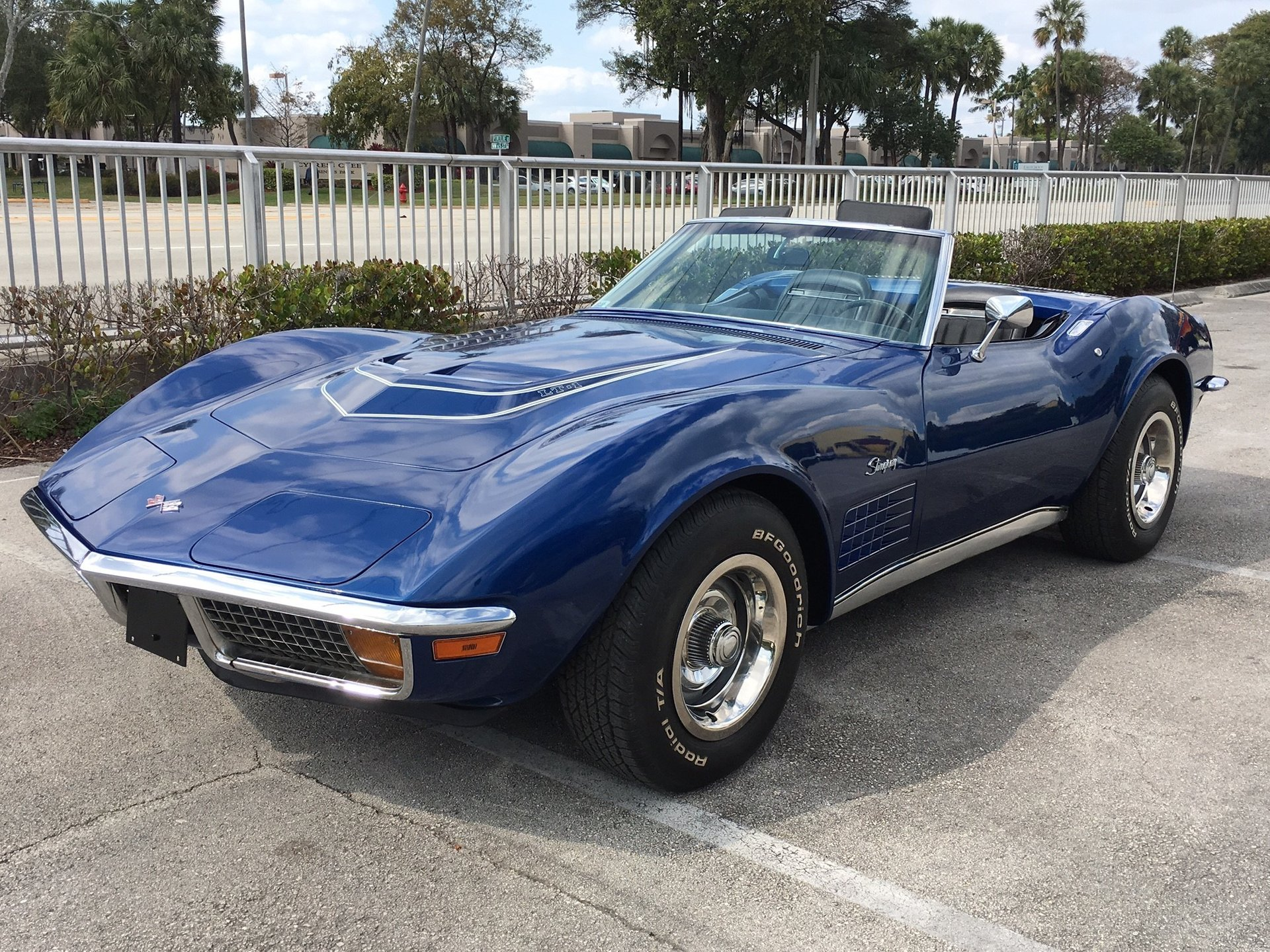 1972 chevrolet corvette lt1