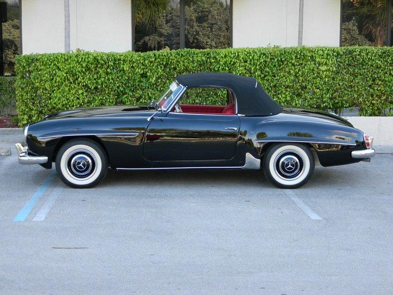 1963 mercedes benz 190 sl