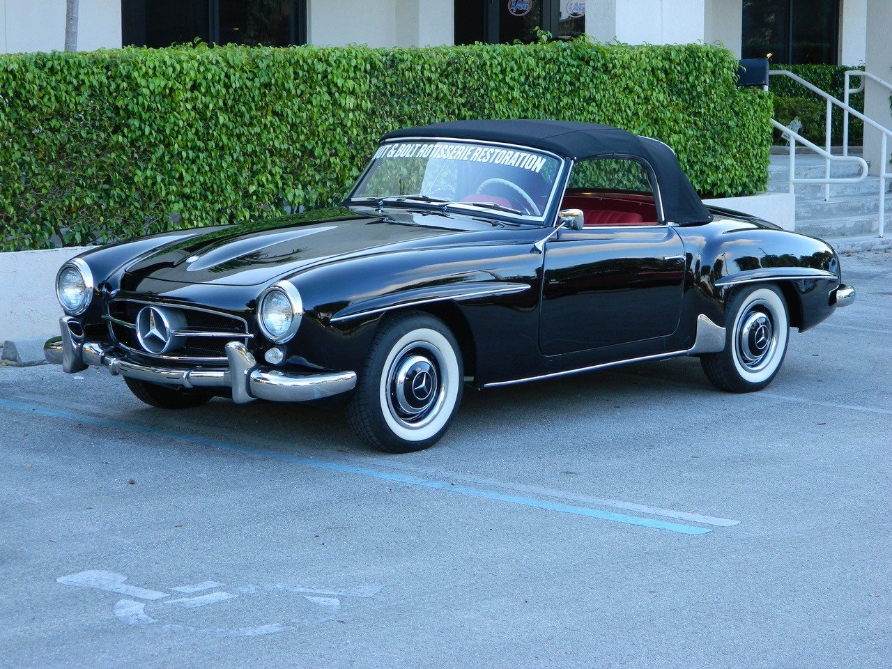1963 mercedes benz 190 sl