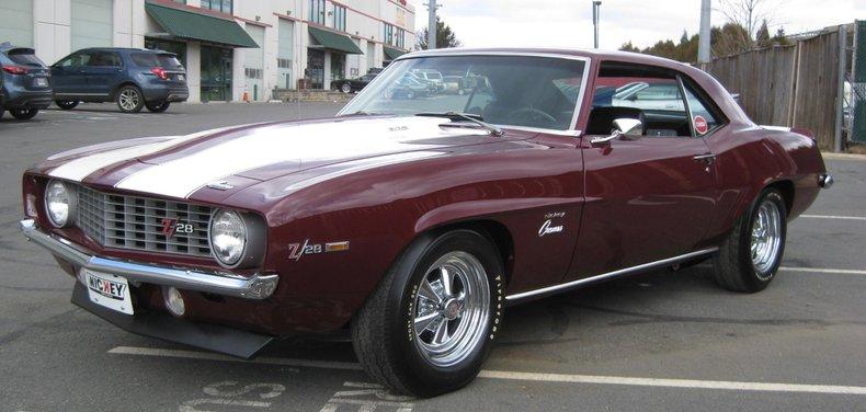 1969 chevrolet nickey z28 camaro x77