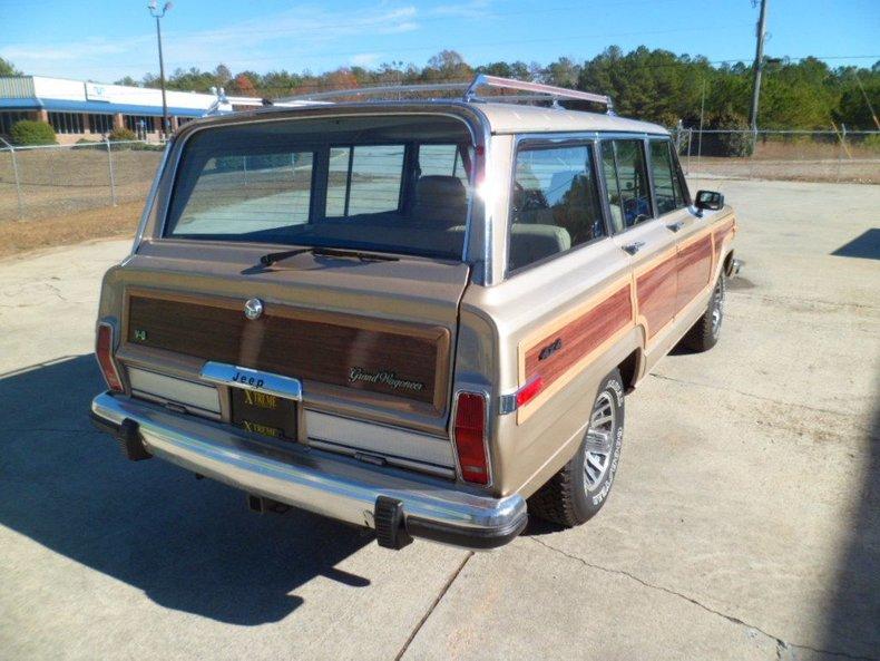 1990 jeep grand wagoneer woody wagon 4x4