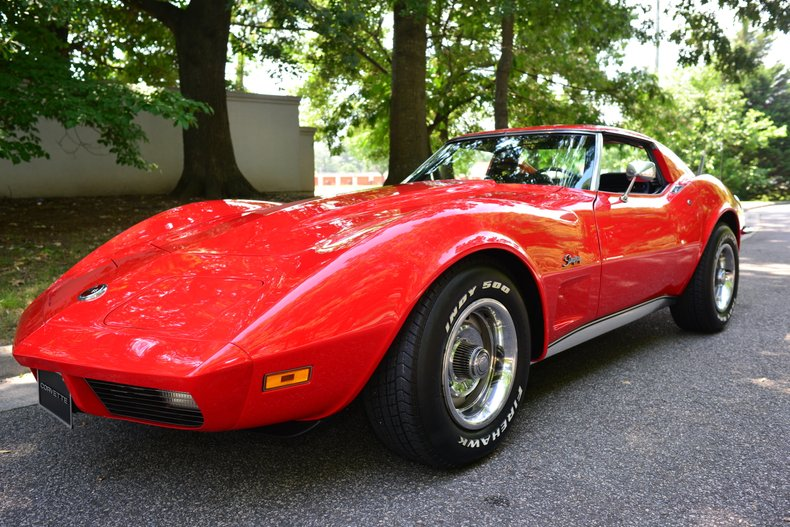 1973 chevrolet corvette sport coupe