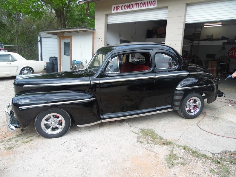 1948 ford coupe resto mod