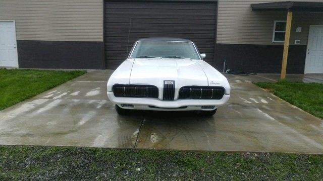 1970 mercury cougar xr7