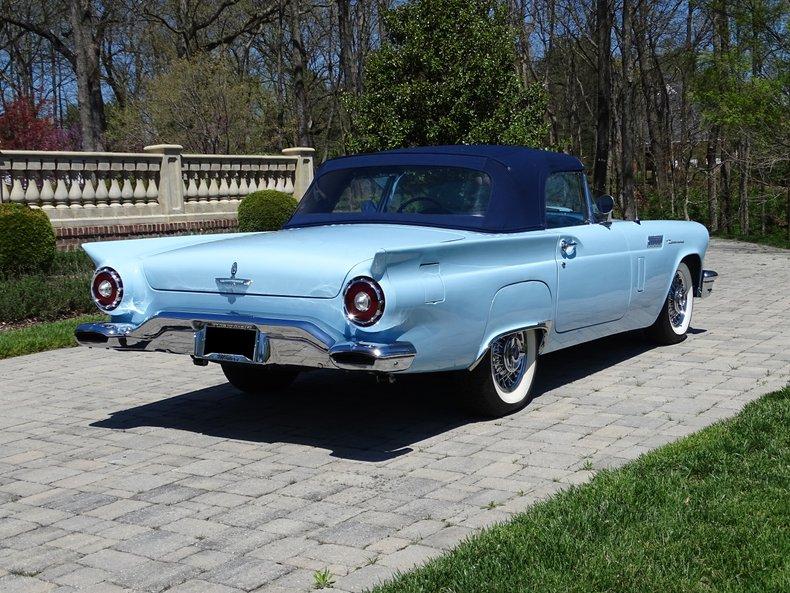 1957 ford thunderbird minter e code