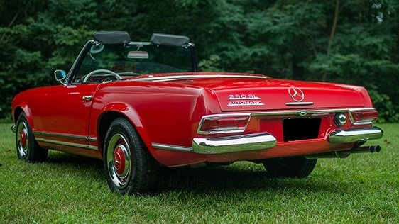 1966 mercedes benz 230 sl