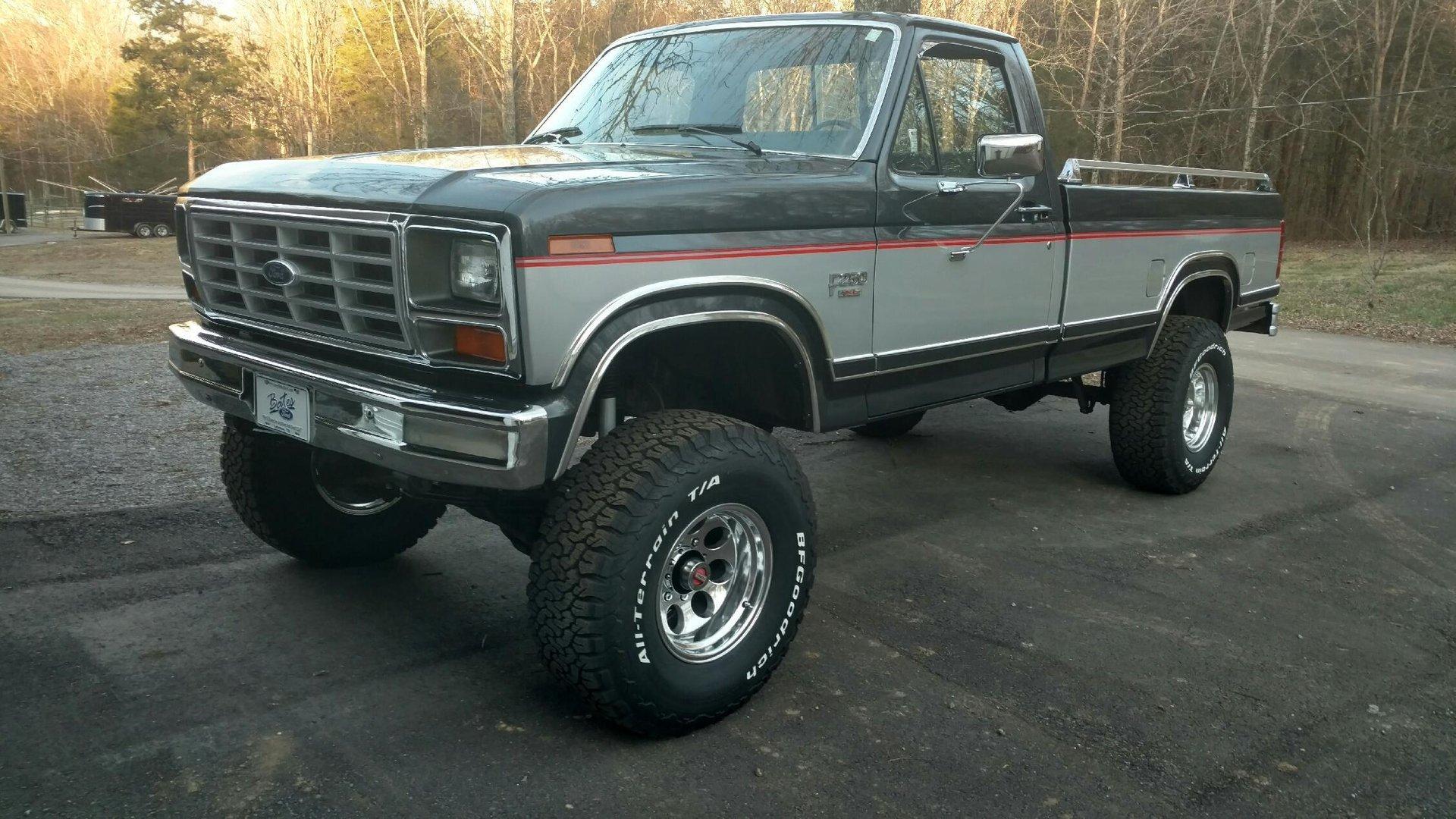 1985 ford f250 xl