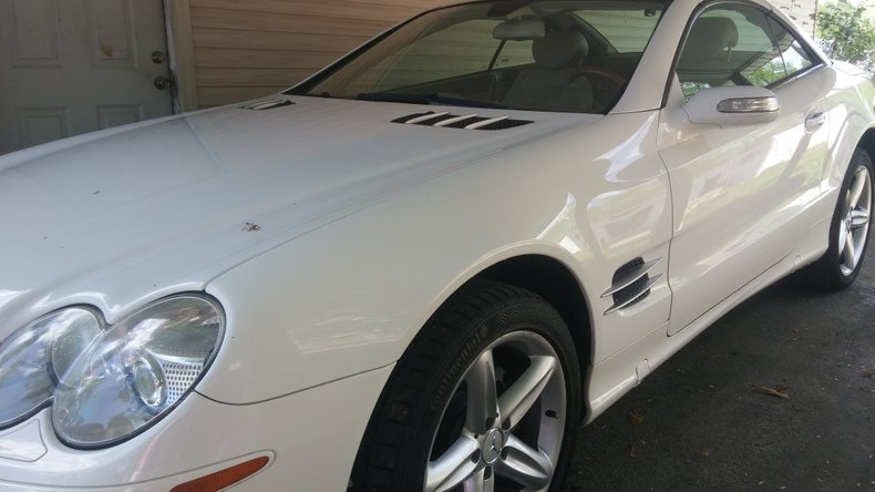 2005 mercedes benz sl500