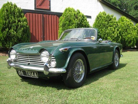 1966 Triumph TR-4 IRS
