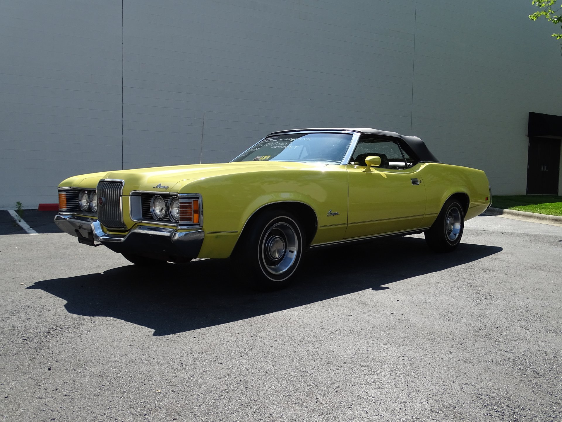 1971 mercury cougar xr7