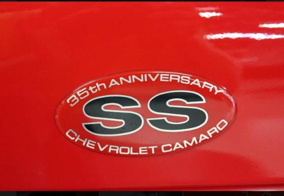 2002 chevrolet camaro 35th anniversary