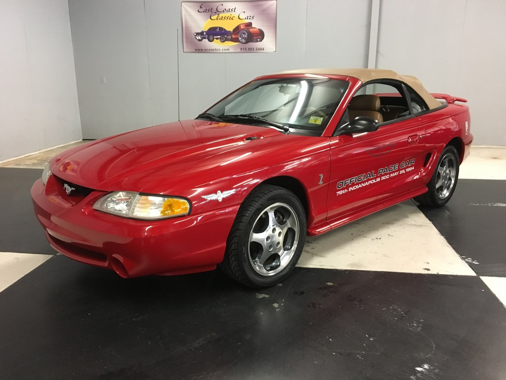 1994 ford mustang pace car convertible