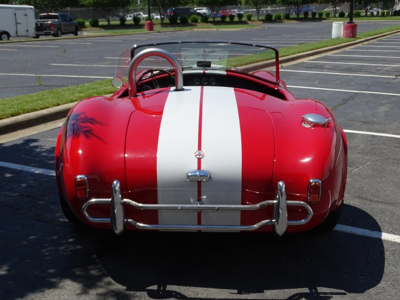 1992 assembled 1965 shelby cobra replica