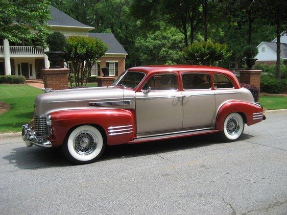 1941 cadillac fleetwood series 75 resto rod