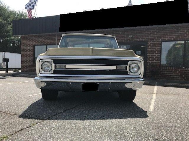 1970 chevrolet c10 custom