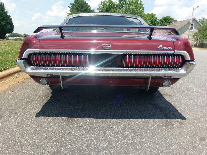 1967 mercury cougar x