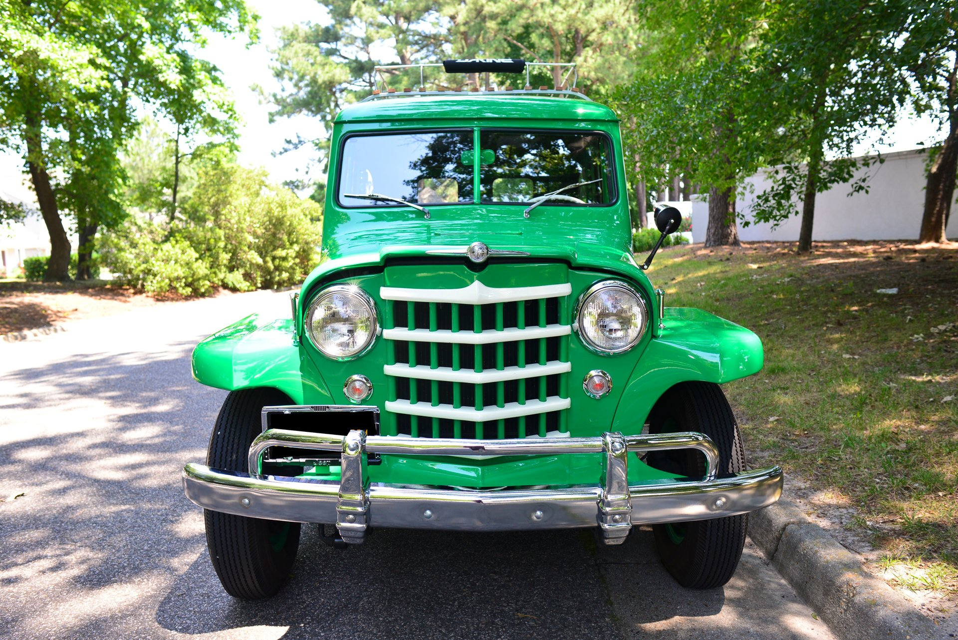 1952 jeep willys woody wagon