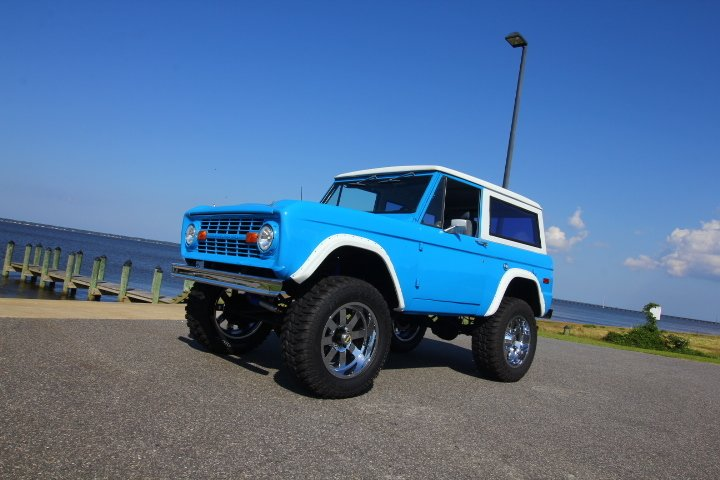 1974 ford bronco explorer
