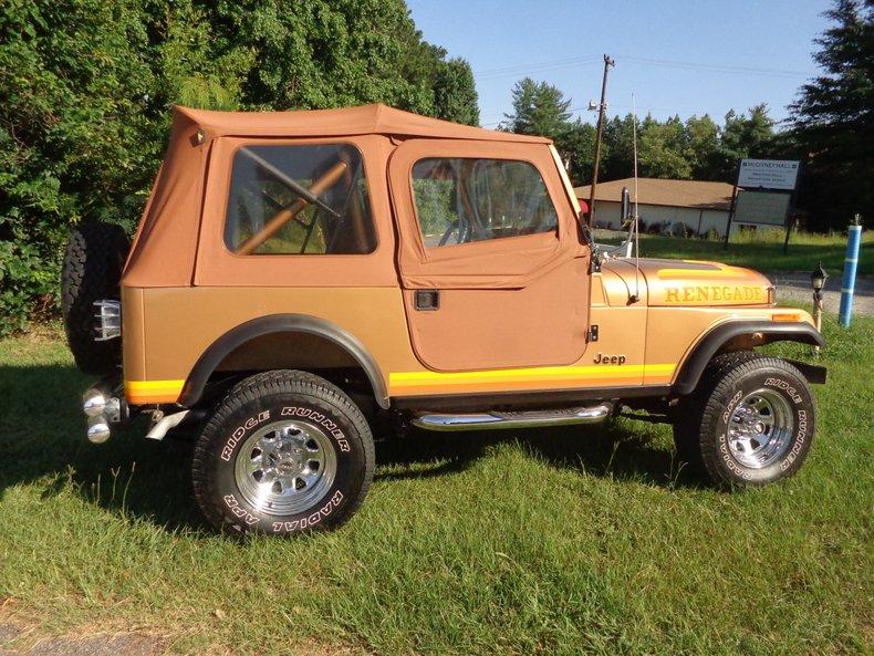 1982 jeep wrangler c 7 4x4