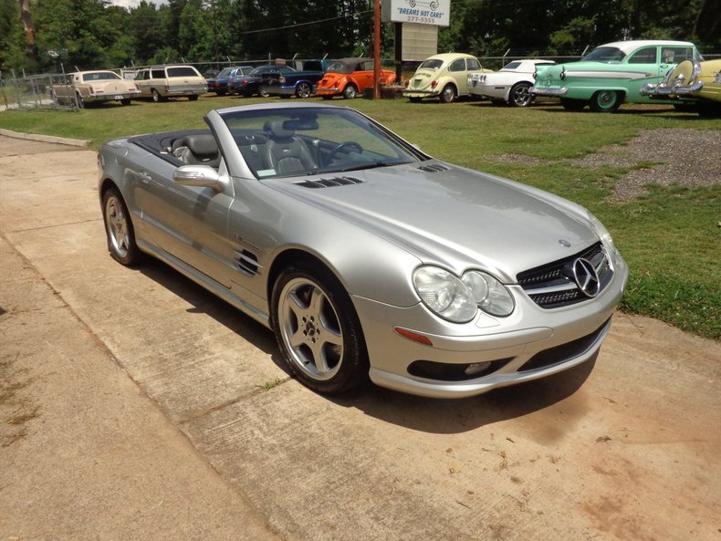 2004 Mercedes-Benz SL55 AMG Roadster