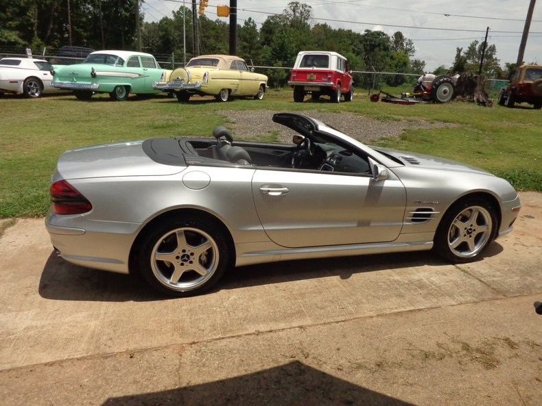 2004 mercedes benz sl55 amg roadster