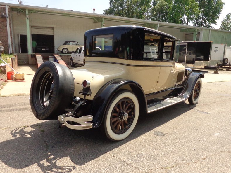 1923 lincoln l doctors coupe