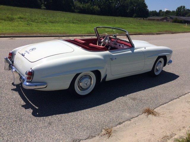 1961 mercedes benz 190 sl