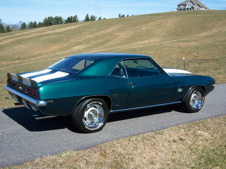 1969 chevrolet camaro ss 396 x22