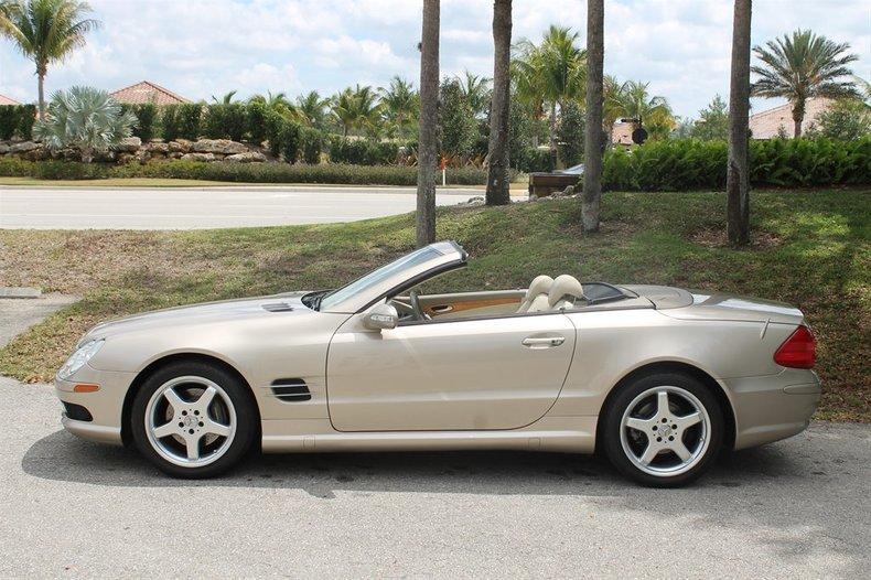 2003 mercedes benz sl500 sl class