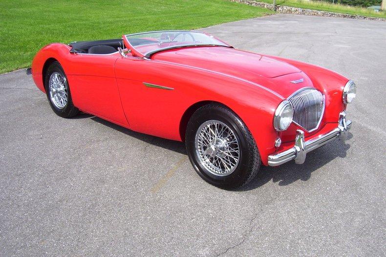 1956 austin healey 100 4 bn2 sport roadster
