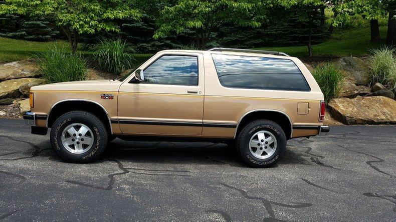 1986 Chevrolet S10