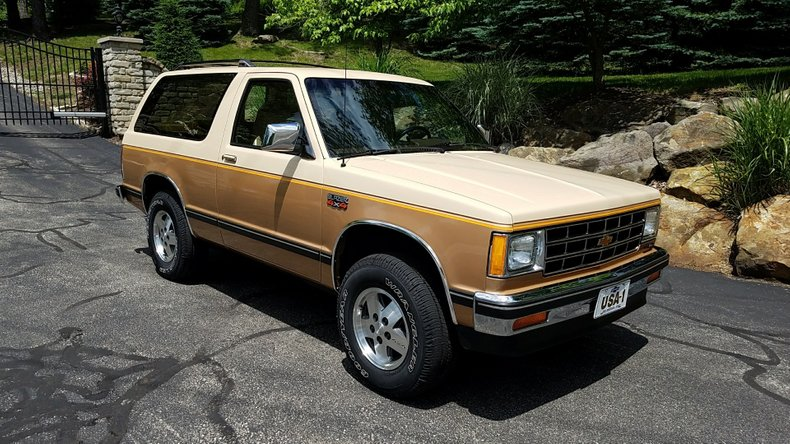 1986 chevrolet s10 blazer