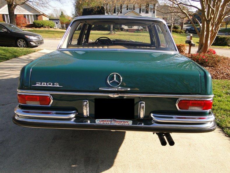 1968 mercedes benz 280 s