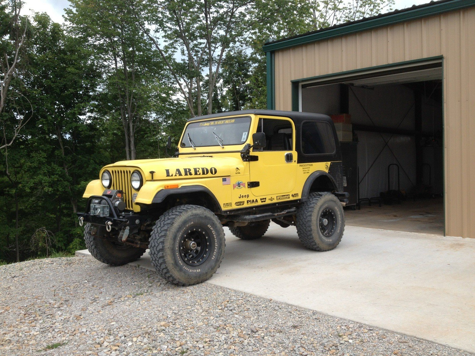 1985 american motors jeep cj7 laredo