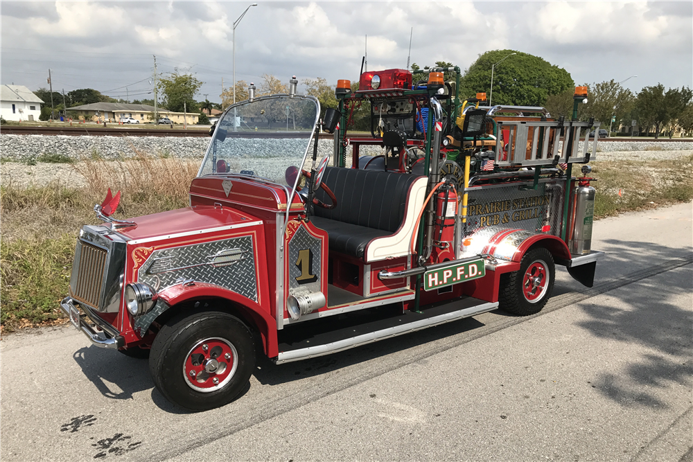 1938 allis chalmers custom fire truck