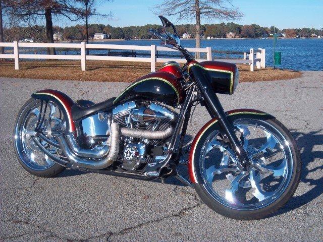 2002 harley davidson flsrci custom