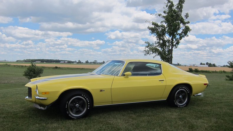 1970 chevrolet camaro r s z28