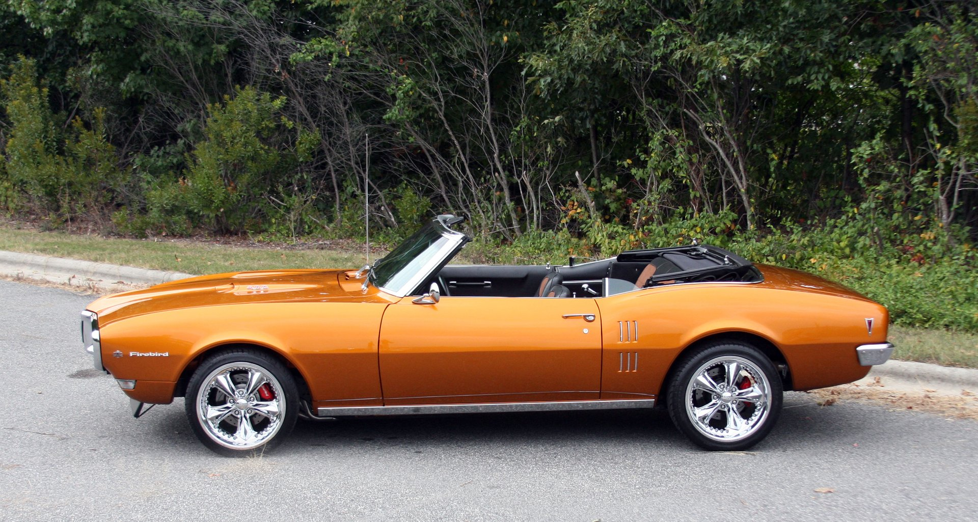 1968 pontiac firebird 400 restomod