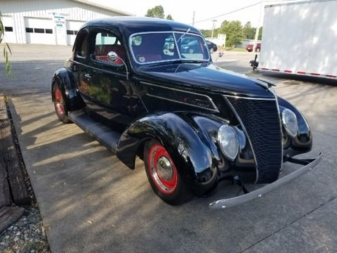 1937 ford 5 window business coupe