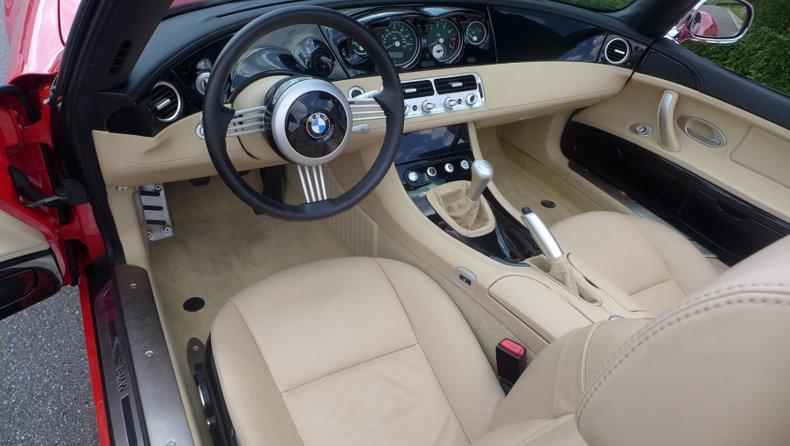 2001 bmw z8 convertible