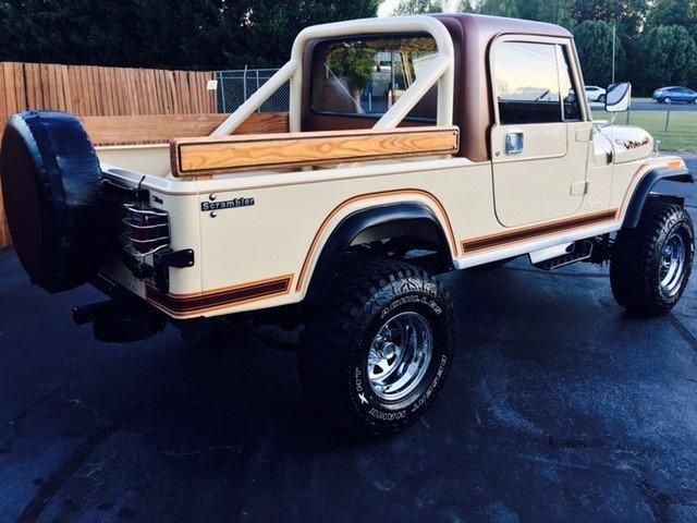 1982 jeep scrambler sl sport
