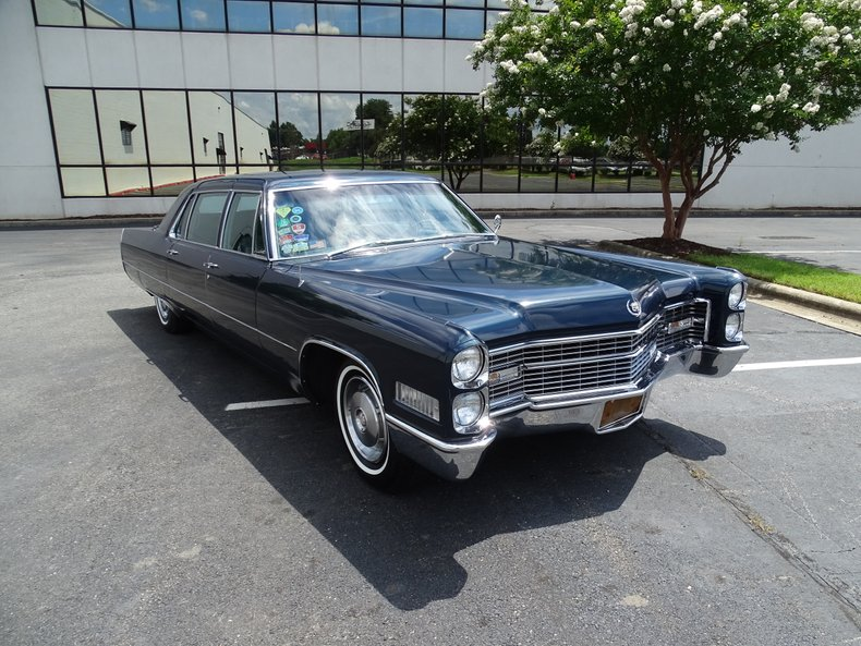 1966 cadillac fleetwood limousine